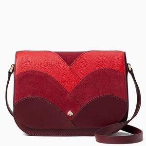 💃Kate Spade Nadine Patchwork flap shoulder bag